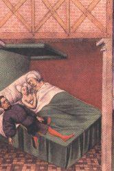 MINIATURA DEL PERGAMINO DE SAN PEDRO: LOS AMANTES DE TERUEL, carrera sexologia, cursos sexologia, clinica sexologia, master sexologia