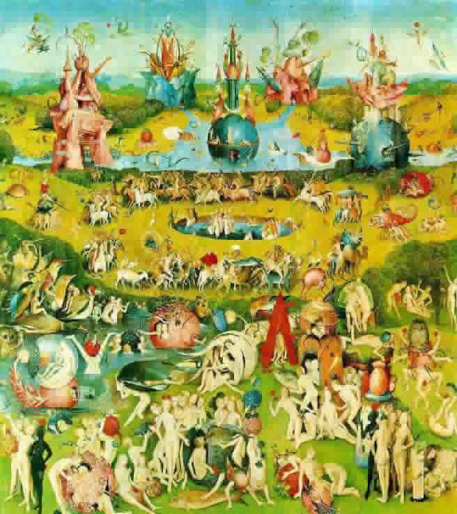 Bosch- Jardin de las delicias