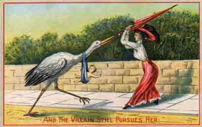 Postal victoriana Prevención de embarazo